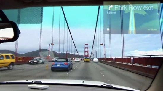 谷歌眼镜或彻底改变车载系统 导航功能惊艳