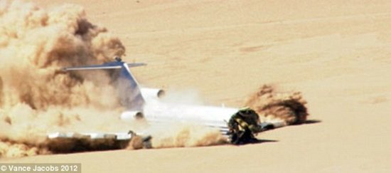 最新客机坠毁试验表明:头等舱最危险