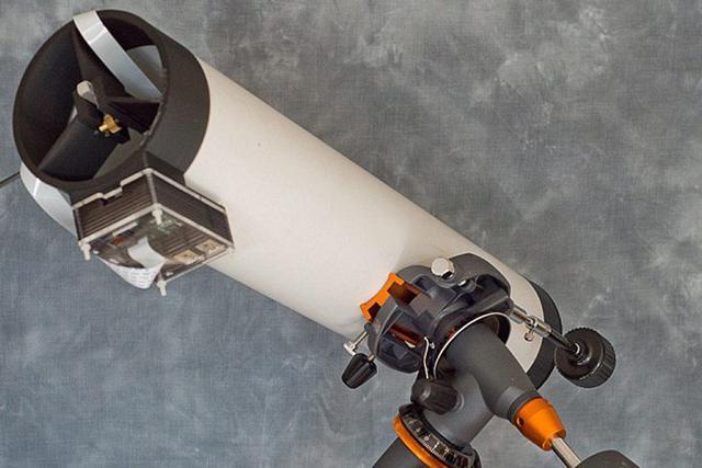 酷!英国物理学家发明3D打印望远镜