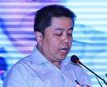 中国互联网协会代秘书长、网络营销工作委员会主任委员卢卫致辞
