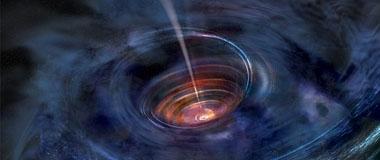 天文学家探测到3亿光年外黑洞正在吞噬恒星