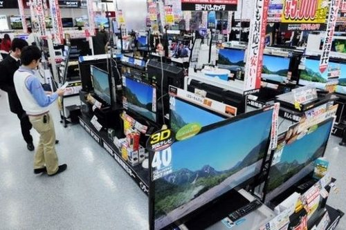 日本超薄电视均价约3420元 跌至10年前CRT水平