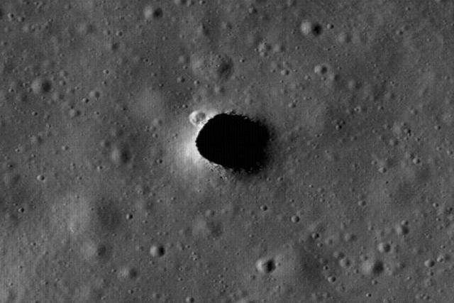 美国宇航局发现月球上熔岩管道可成栖息地