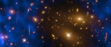 """ALMA望远镜最新观测到一处宇宙""""射电洞"""""""