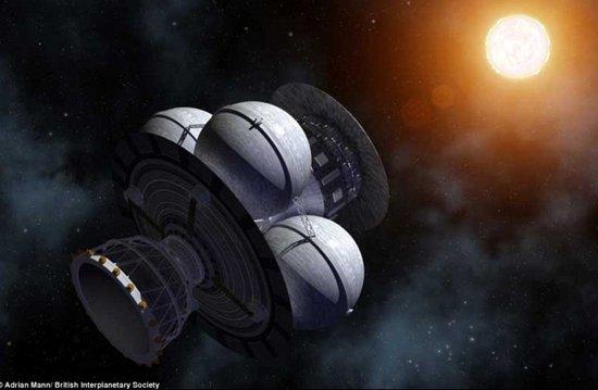 """揭""""100年星舰""""宇宙航行计划:造5万吨飞船"""