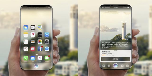 iPhone 8曲面屏被指无实际功能,只是样子货
