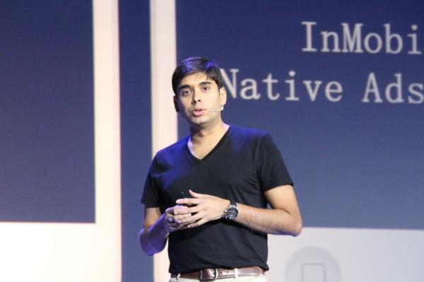 InMobi公司CEO:内生式广告是广告业发展趋势