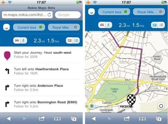 让iOS和Android用上诺基亚地图