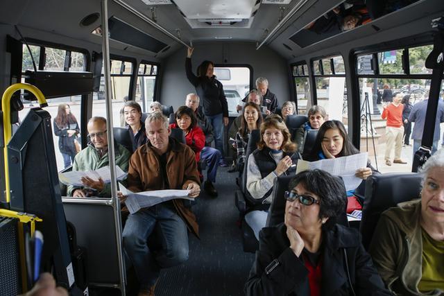 为平民愤 谷歌开始为硅谷居民提供免费公交