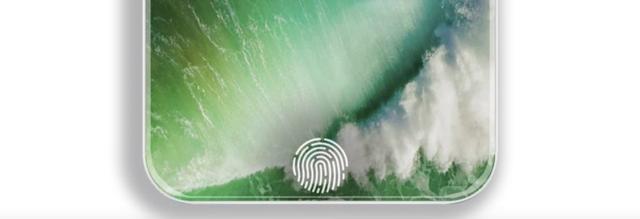 传iPhone 8九月份大规模量产 用自家指纹传感器