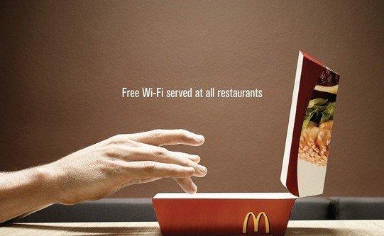 麦当劳明年全国重启免费WiFi 速达最高2M