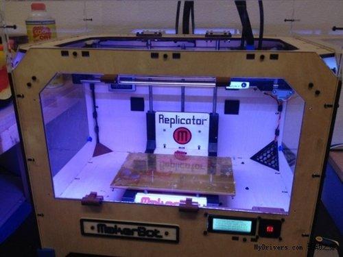 美国首家3D打印机商店开业