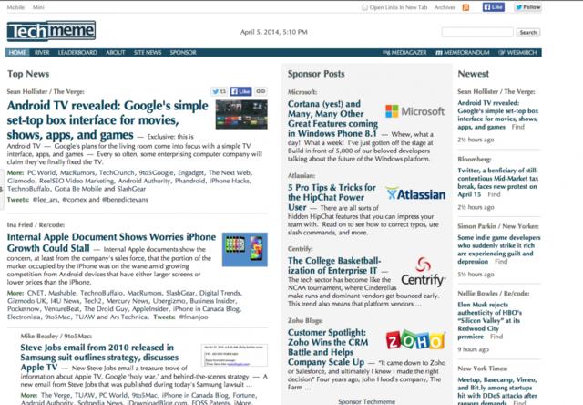 Techmeme如何成为科技行业的必读新闻网站?