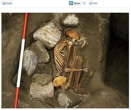 苏格兰现3000年前木乃伊 身体各部分分属6人