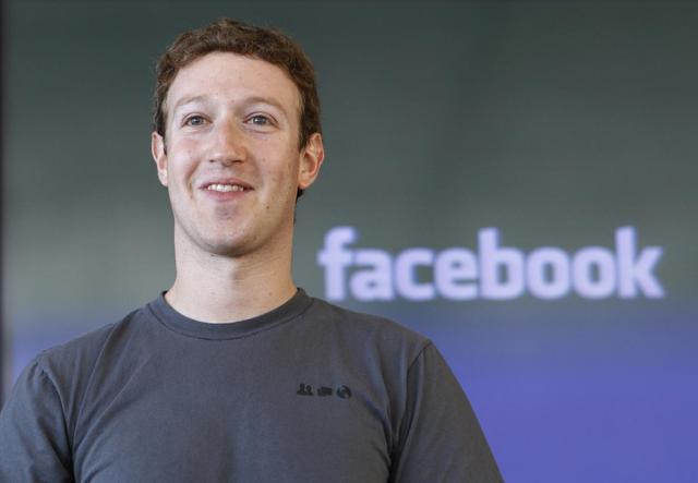 第57届戛纳年度媒体人物:FB创始人扎克伯格