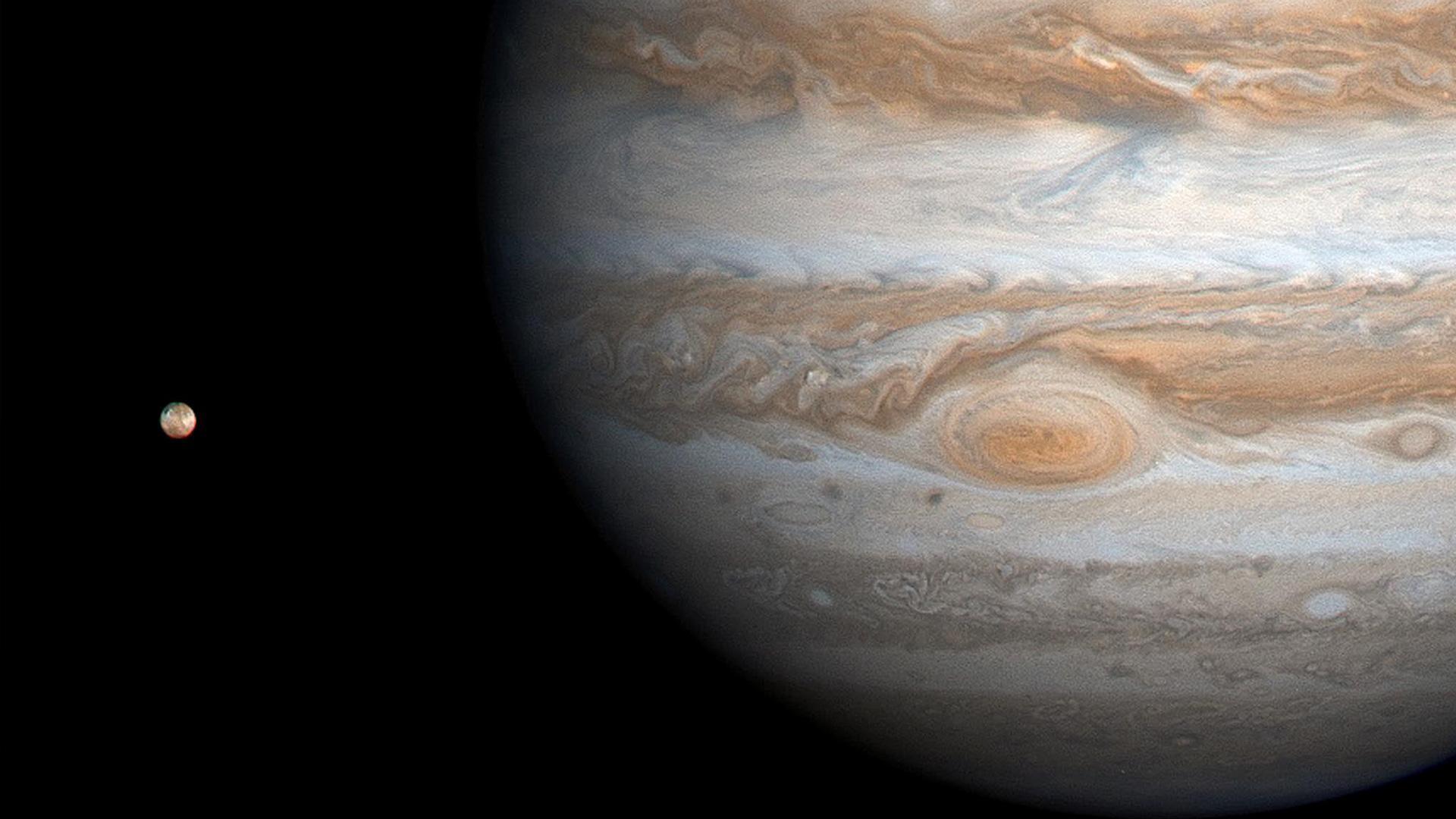 组图:盘点木星11张令人惊奇的图像