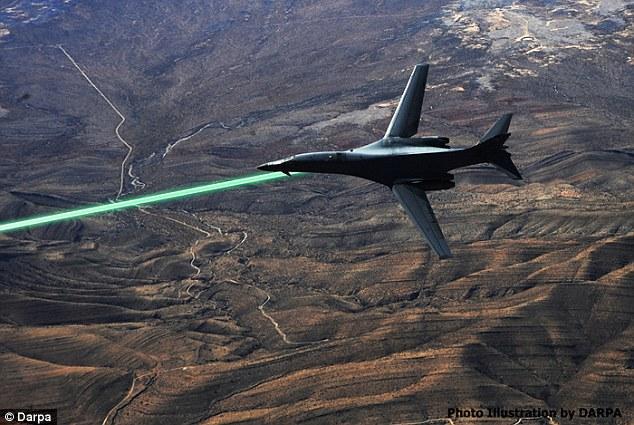 """星球大战来了!美军测试机载""""死亡射线""""成功"""