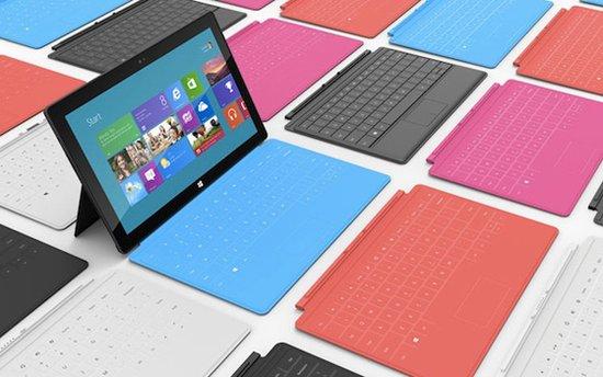 微软Surface学步苹果终将与诺基亚RIM为伍