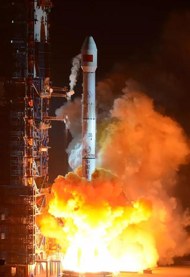 长征三号乙运载火箭成功发射中星1C卫星