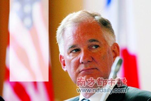 """美国国防部常务副部长威廉·林恩称主动防御战略""""压倒一切的重点""""是威慑。"""