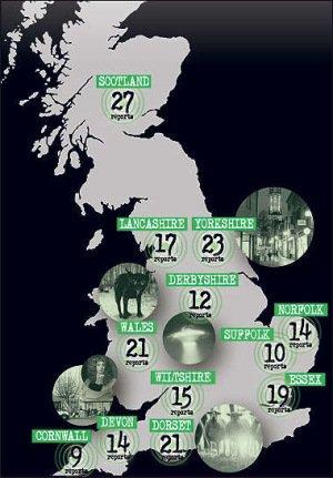 """英12个月记下227起""""超自然事件"""" 超往年纪录"""