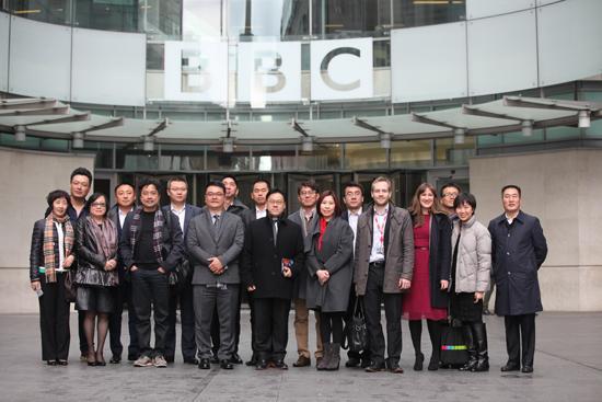 腾讯高层访问BBC传播集团 将引进更多优质英剧