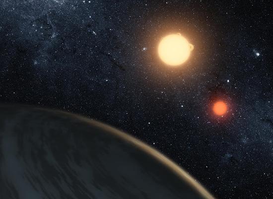 """天文学家发现了拥有""""两颗太阳""""的行星系统"""