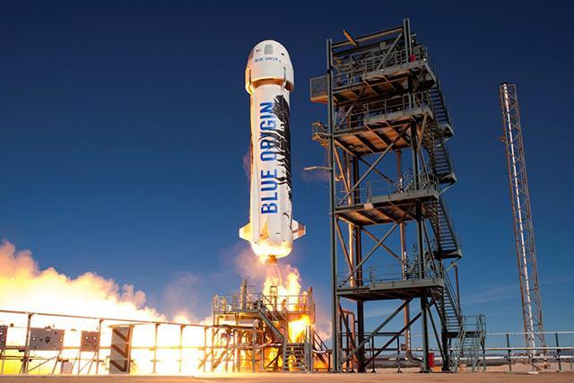 火箭不再是一次性 蓝色起源回收火箭发射成功