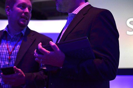 图文实录:微软发布第二代Surface