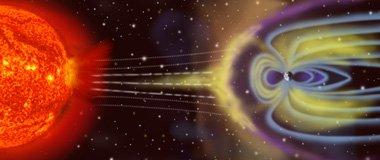 宇宙中恒星常见的现场:磁暴