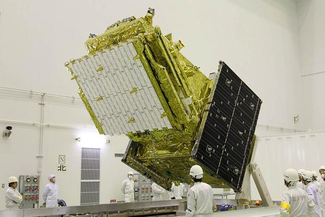 日本发射卫星调查环太平洋火山地震带