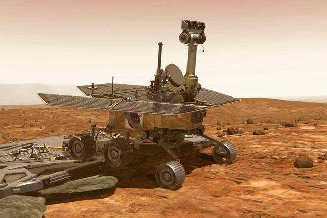 NASA机遇号火星车准备过冬啦!
