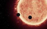 两颗系外行星有类地大气层