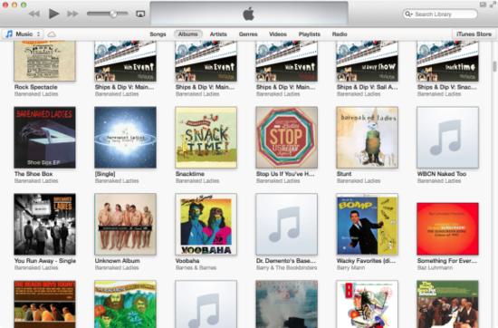 苹果正式推出iTunes 11:界面模仿iPad