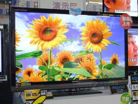 夏普60寸3D电视25999元