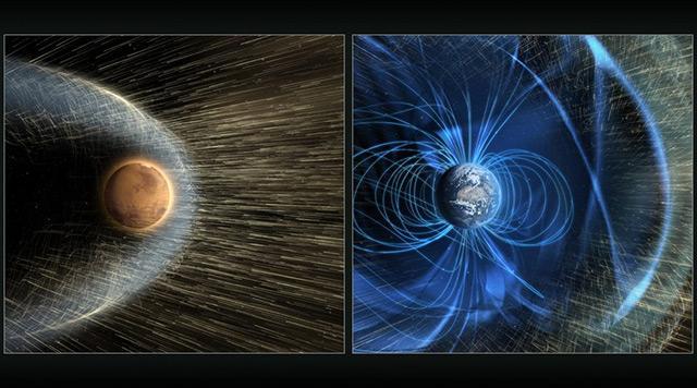 火星大部分大气去哪儿了?太阳风吹跑了