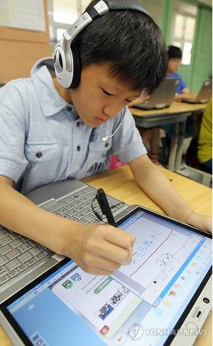 韩国将在2015年前对所有教科书进行数字化