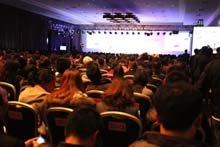 北京国家会议中心千人营销会议现场
