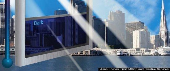 可调透明度的智能玻璃问世 或将取代传统窗帘