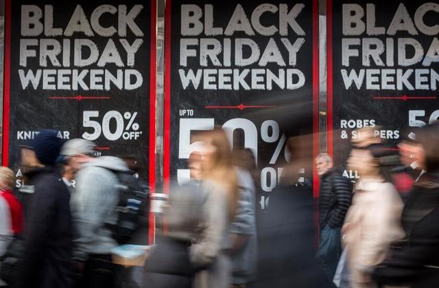网购蚕食 黑色星期五美国实体店客流一年不如一年