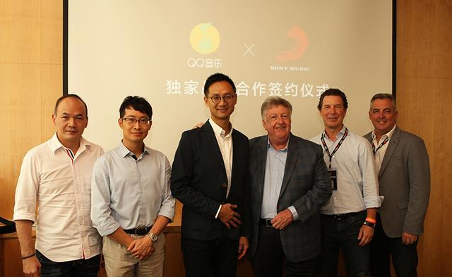 索尼音乐与腾讯音乐娱乐续签中国大陆战略合作协议