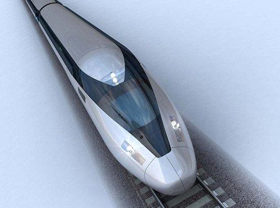 超酷的HS2高速列车:速度接近每秒100米