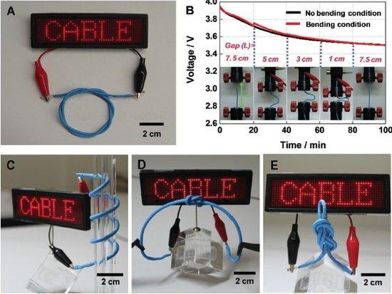 LG研发出可弯曲电池 可用于手机及可穿戴设备