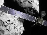 """欧洲""""罗塞塔""""探测器将穿过彗星喷流收集物质"""