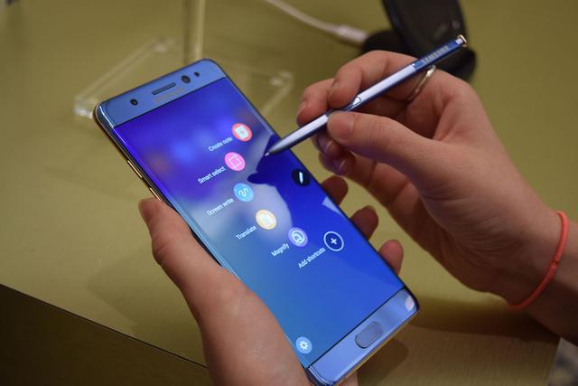 Galaxy Note 7电池发生爆炸 三星决定推迟发货