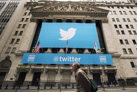 Twitter开盘报45.1美元 较发行价上涨73%