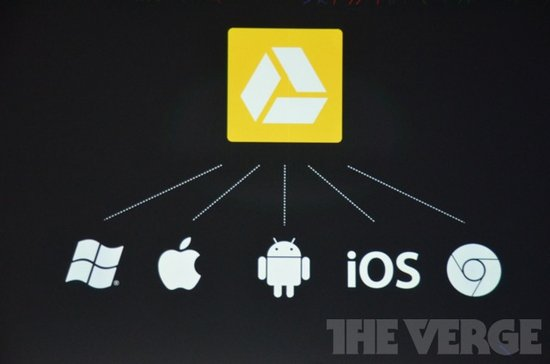 Google Drive存储服务将支持苹果iOS系统