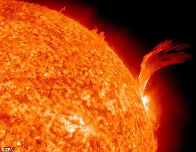 千年前曾出现极端太阳风暴 可摧毁全球电网