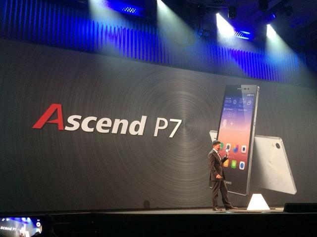 华为发布年度旗舰智能手机P7 全球定价499欧元