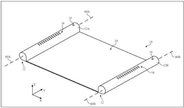 苹果又曝逆天新专利 未来或研发卷轴式移动设备